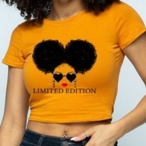 """Flaunt it!😍 """"Limited Edition"""" Cropped tee"""